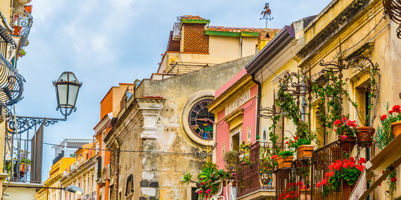 4-dňový letecký zájazd na Sicíliu s ubytovaním, raňajkami a službami sprievodcu/Sicília - Taliansko