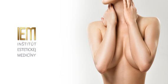 SUPER PONUKA: Krásne prsia už navždy – zväčšenie poprsia silikónovými implantátmi v IEM/Pezinok