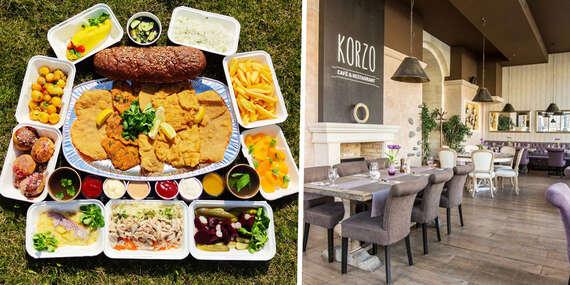 Rodinné kombo z KORZO café&restaurant, s osobným odberom / Bratislava - Staré Mesto