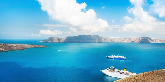 5 dní plných zážitkov na Santorini po boku slovenského sprievodcu CK s odletom z Viedne, raňajkami a ubytovaním 50 m od pláže/Santorini - Grécko