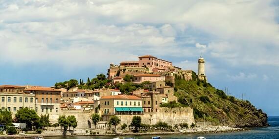 Ostrov Elba, Florencia a šikmá veža v Pise s kúpaním/Taliansko - Florencia