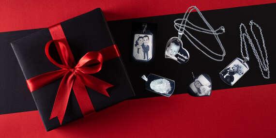 Tip na darček: Retiazky a šperky z chirurgickej ocele s gravírovaním (vlastná fotka alebo text)/Slovensko