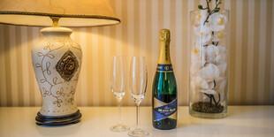Privítanie na izbe – fľaša Prosecca