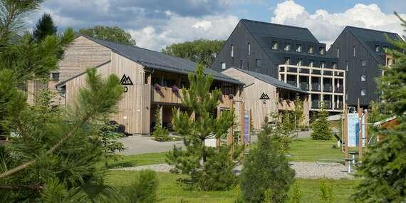 Dovolenka v novootvorenom rodinnom rezorte v Demänovej – apartmány pre 2 až 8 osôb s wellness a vstupom do Fun Centra/Liptov - Demänová