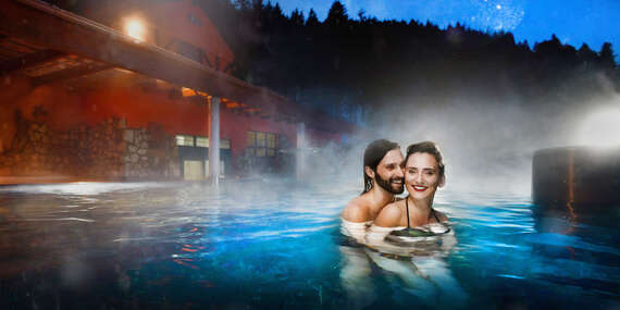 Zimný relax v Kúpeľoch Lúčky s plnou penziou, procedúrami a hrejivými termálnymi bazénmi/Liptov - Lúčky