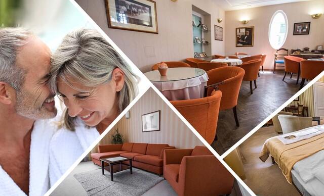 3 noci nabité procedúrami, plnou penziou a wellness v Hoteli Sandor Pavillon**** Piešťany