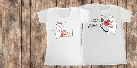 Tričká s potlačou pre páry/Slovensko