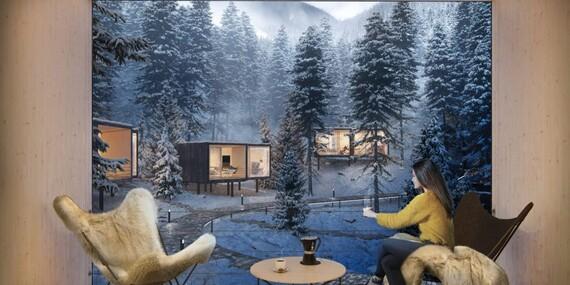 Björnson Tree Houses - dovolená uprostřed lesa pod Chopkom s polopenzí s dítětem do 10 let zdarma/Slovensko - Demänovská Dolina - Jasná
