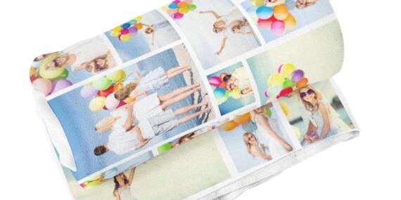 Osobitý dárek v podobě hřejivé fotodeky z vlastních fotografií ve dvou rozměrech/ČR