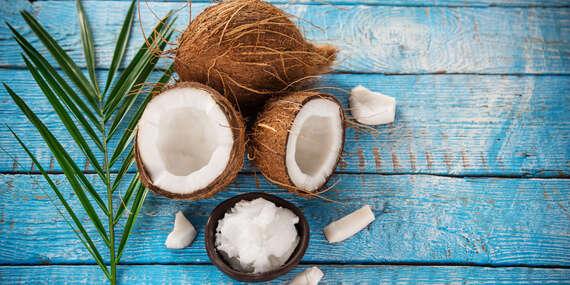 Masáž chrbta s kokosovým olejom alebo masáž so škoricovým zábalom/Košice - Západ