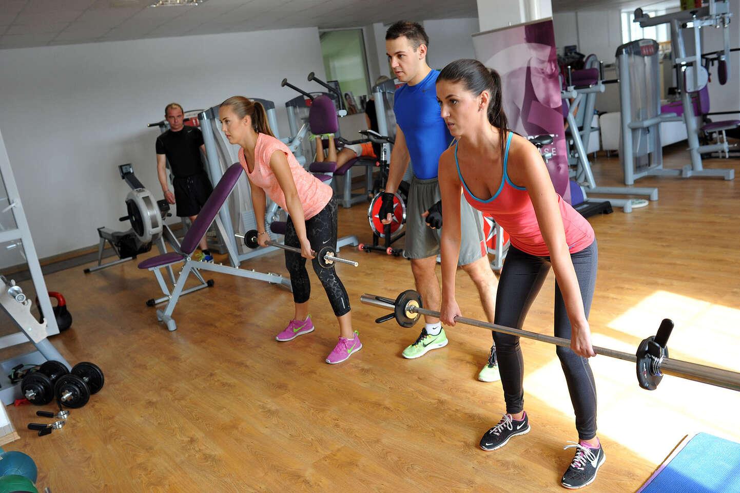 Pilates, spinning, TRX, trampolínky alebo diagnostika, výživové p...