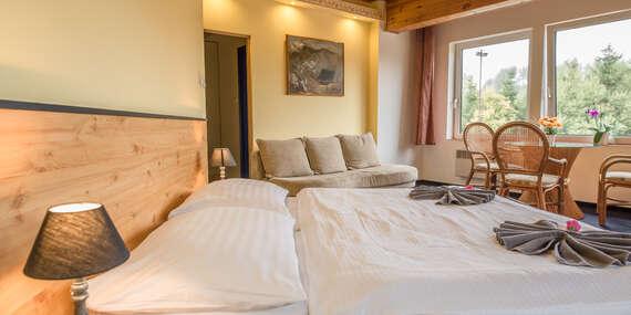 Beskydy v Hotelu Bečva s polopenzí, infrasaunou, zázemím pro sport i pro děti a platností do prosince 2020 / Beskydy - Horní Bečva