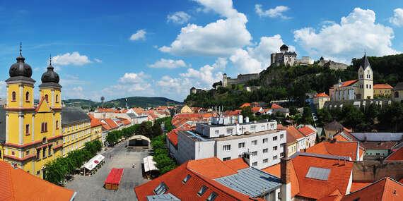Neobmedzený wellness pobyt priamo pod trenčianskym hradom v GRAND hoteli***+ Trenčín/Trenčín