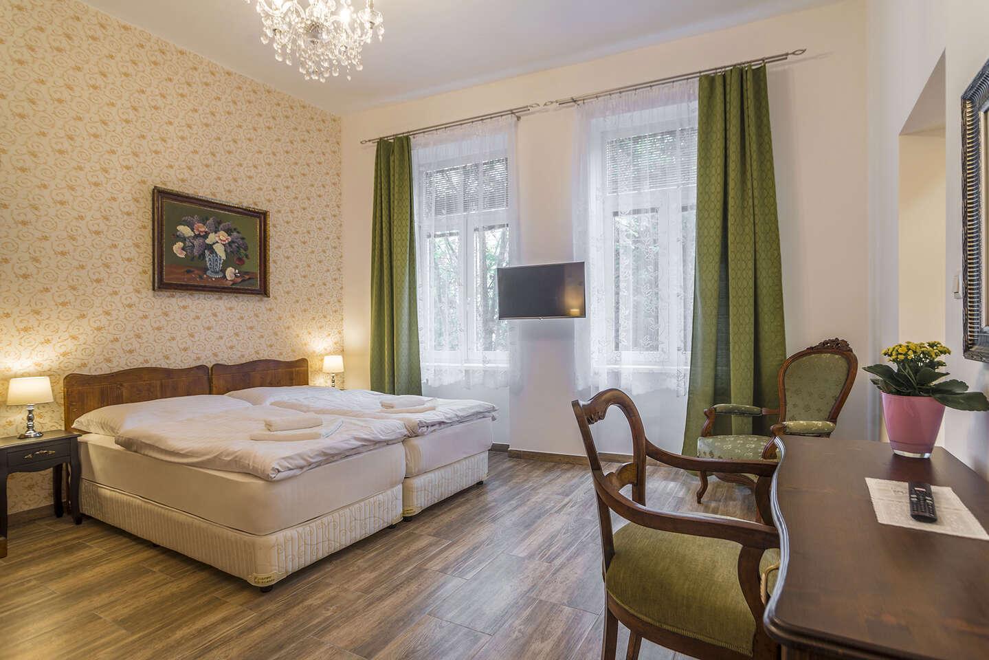 Štýlové ubytovanie v apartmánoch v centre Prešova s celodenným vstupom na letné kúpalisko Sun Park
