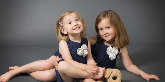 Profesionálne portrétne fotografie rodiny, detí, dospelých, vhodné aj ako darček/Bratislava