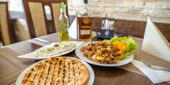 Netradiční chutě v menu řeckého stylu v restauraci Delphi Greek v Ostravě/Ostrava
