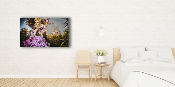Prémiový obraz na plátne z vlastnej fotografie so skrytým rámom/Slovensko