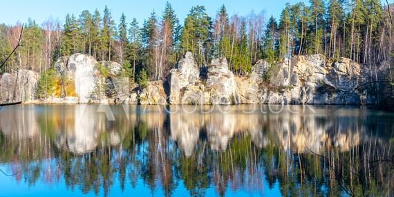 Adršpašská skalní města z Hotelu Praha*** s polopenzí a v jakémkoli ročním období díky platnosti do prosince 2020/Adršpach - Broumov
