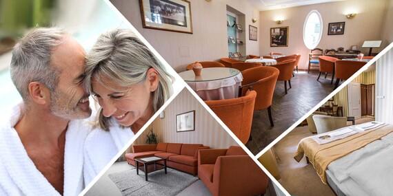 3 noci nabité procedúrami, plnou penziou a wellness v Hoteli Sandor Pavillon**** Piešťany / Piešťany