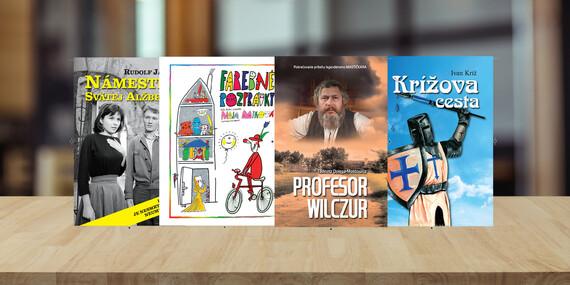 Knižka Farebné rozprávky, Námestie svätej Alžbety, Profesor Wilczur alebo Krížova cesta s darčekom/Slovensko
