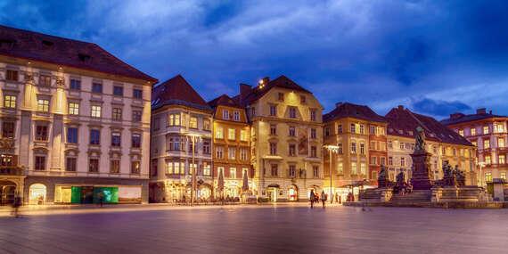 EXTRA PLATNOSŤ: Pobyt s raňajkami len pár minút pešo od centra Grazu (dve deti do 17 rokov zdarma)/Graz - Rakúsko