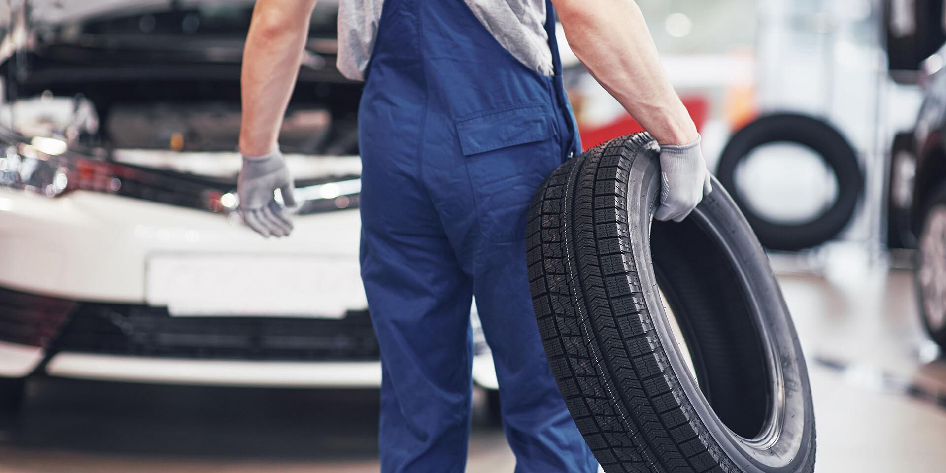 Kompletné prezutie pneumatík aj s vyvážením