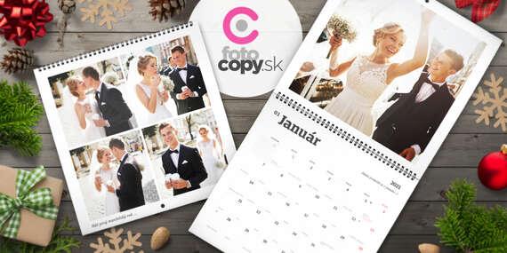 Exkluzívny dvojdielny kalendár s veľkými fotografiami/Slovensko