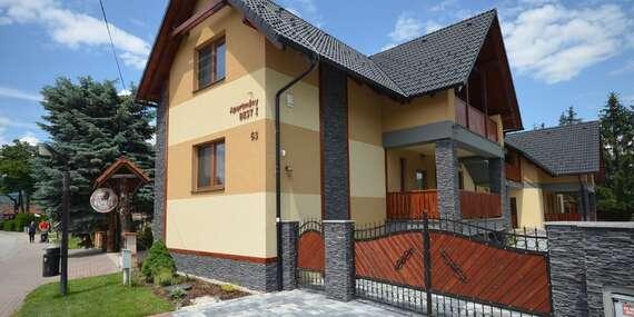 Súkromné apartmány BEST, len 200 metrov od termálneho kúpaliska Bešeňová/Bešeňová