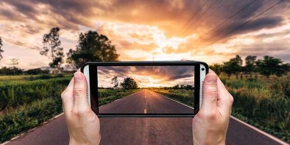 Online kurz focení aneb dokonalé fotografie pořízené vaším mobilním telefonem pod vedením profesionálů/ČR