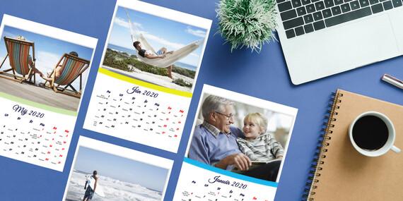 Kalendáre, hrnčeky a magnetky s vlastnými fotkami / Slovensko