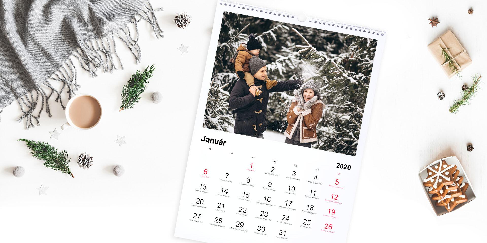 Fotokalendár s vašimi najkrajšími spomienkami