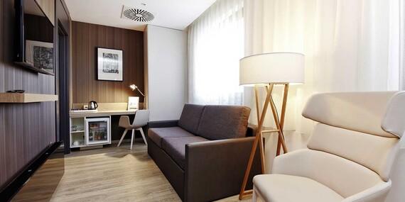 Hotel Occidental**** alebo Occidental Praha Five**** blízko historického centra a už od 1 noci/Praha 4 a Praha 5