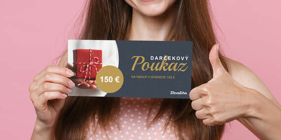 Darčekový poukaz na nákup na ZľavaDňa / Celé Slovensko