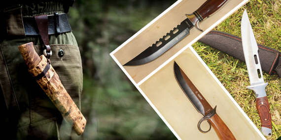 Nože a dýky s oceľovou čepeľou, na ktoré sa môžete spoľahnúť/Slovensko