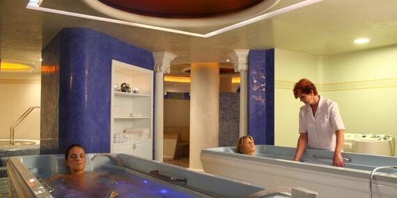 Liečebné procedúry, konzultácia s lekárom, wellness a plná penzia v kúpeľoch Brusno / Brusno