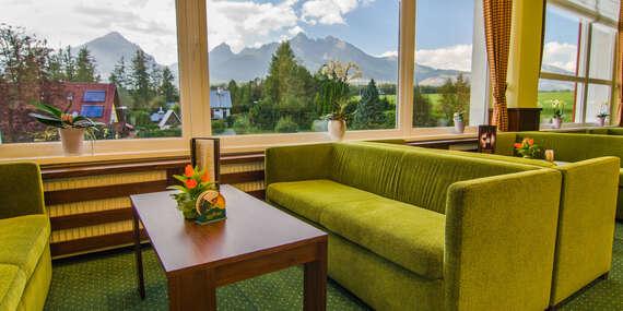 Hotel Lesana*** v Tatrách: Výhľad na Lomnický štít, wellness, polpenzia a detský raj Kinderland/Vysoké Tatry – Stará Lesná