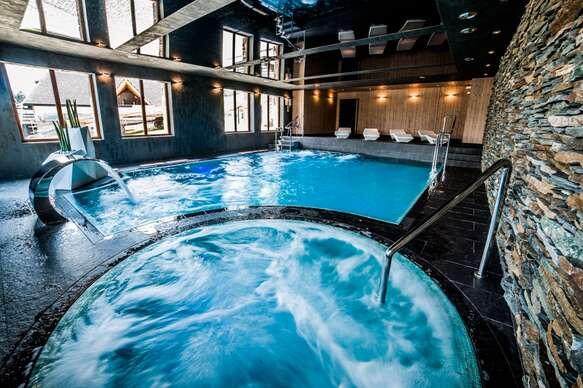 Jar vo vynikajúcom hoteli Zawrat s neobmedzeným wellness, len 2 km od Termy Bania.