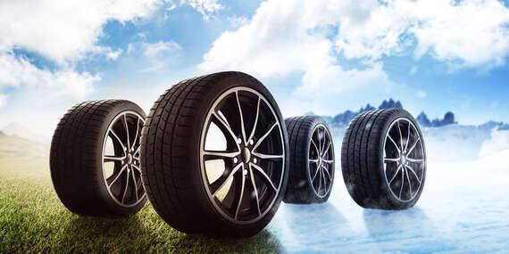 Kompletné prezutie pneumatík s vyvážením + kontrola vozidla/Bratislava - Podunajské Biskupice