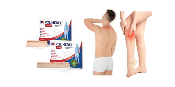 NOVINKA: Polimedel – zdravotnícka polymérová fólia na odstránenie bolesti (poštovné zdarma)/Slovensko