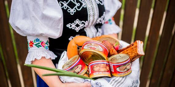 Slovenské mäsové výrobky v konzerve a paštéty podľa tradičných receptúr bez pridaných umelých látok/Slovensko
