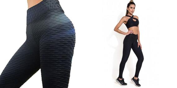 Legíny s účinkom proti celulitíde - Mega Fit Leggings/Slovensko
