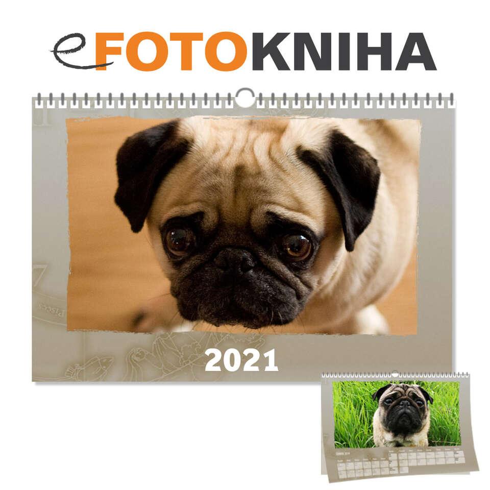 Tip na darček: Nástenný fotokalendár 2021 z vašich najkrajších...