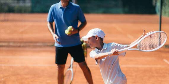 Tenisové tréningy pre deti v TC Baseline/Banská Bystrica