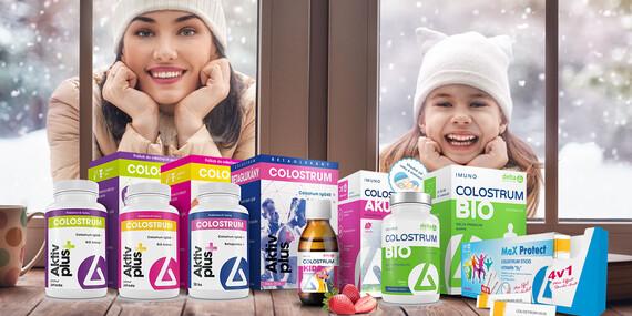 DELTA COLOSTRUM® – okamžitá imunita, ktorá vás ochráni/Slovensko