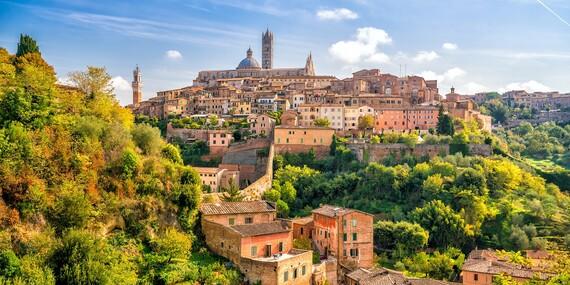 4-dňový letecký zájazd do čarovného Toskánska s ubytovaním, raňajkami a službami sprievodcu/Florencia - Taliansko