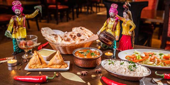 Indické 4-chodové menu pre 2 osoby v Punjabi Dhaba na Hlbokej ceste / Bratislava - Staré Mesto
