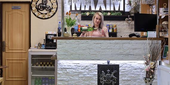 Užite si pobyt vo wellness penzióne Maxim v Bojniciach - blízko vyhliadkovej veže/Bojnice