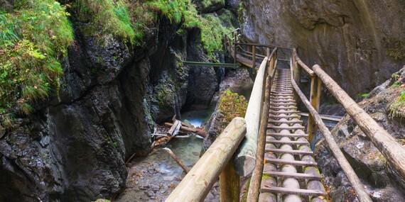 Jedinečný výlet do krásného kaňonu Medvědí soutěska v Rakousku/Rakousko - Medvědí soutěska