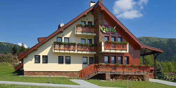Obľúbená štýlová Villa Gloria*** na Donovaloch so vstupom do wellness. Cez víkendy voľné! / Nízke Tatry - Donovaly