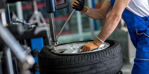 Kompletní přezutí pneumatik včetně jejich kontroly, vyvážení a nahuštění ve VT Service v Kunraticích/Praha